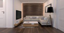 salon zaprojektowany przez projektanta wnętrz